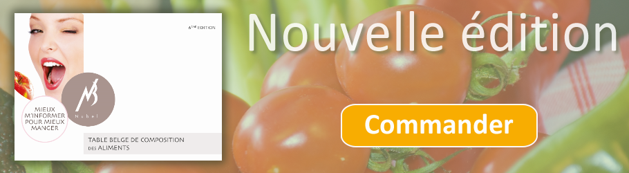 table de composition des aliments nubel pdf